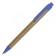 GREEN TOUCH, ручка шариковая, синий, картон/пластик