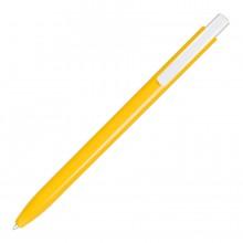 ELLE, ручка шариковая, желтый/белый, пластик