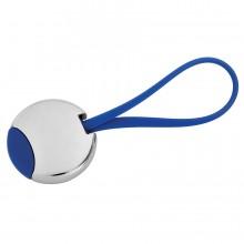 """Брелок """"Beat""""; синий, 3,5x3,5x0,6 см; металл; лазерная гравировка"""