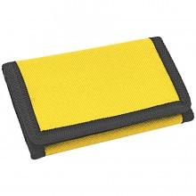 """Кошелек """"Smart""""; желтый; 8х12,5х1 см; полиэстер; шелкография"""