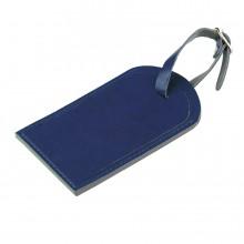 "Багажная бирка ""Tinted"", 6,5*11,5 см, PU, синий с серым"