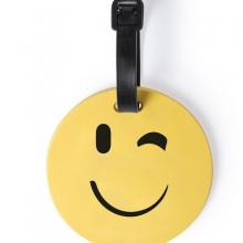 Багажная бирка GRAP(подмигивание), желтый, силикон