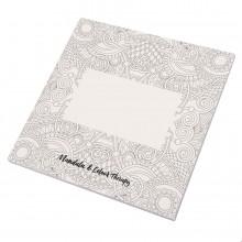 Альбом с раскрасками RUDEX (48 листов), 15х15х07 см, картон, бумага