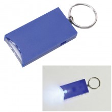 "Брелок ""And"" с подсветкой; синий, 2,8х5,2х0,9 см, пластик"