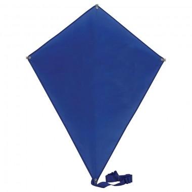 """Воздушный змей """"РОМБ""""; синий; 70*60 см; полиэстер; шелкография"""