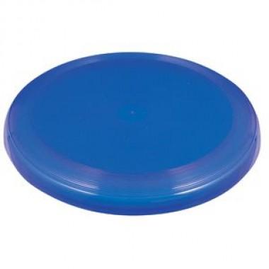 Летающая тарелка; синий; D=22 см; H=2,7см; пластик; шелкография