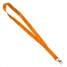 Ланъярд NECK, оранжевый, полиэстер