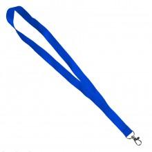 Ланъярд NECK, синий, полиэстер