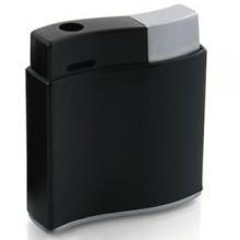 """Зажигалка """"Волна""""; черный; 3,1х1х4,1 см; металл; лазерная гравировка"""