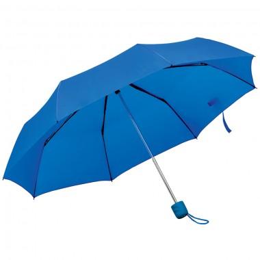 """Зонт складной """"Foldi"""", механический, ярко-синий,"""