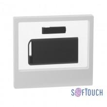 """Набор зарядник """"Theta"""" 6000 mAh + флеш-карта """"Case"""" 8Гб в футляре, покрытие soft touch"""