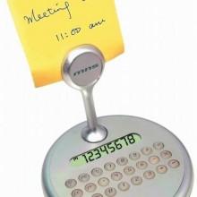 Калькулятор вращающийся с держателем для бумаг