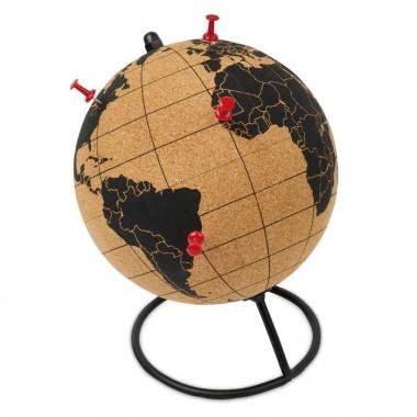 Глобус из пробки