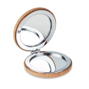 Зеркальце из пробки