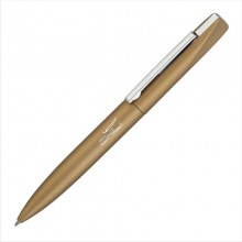 """Ручка шариковая """"Mercury"""", золотой, прорезиненная поверхность"""