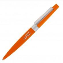 """Ручка шариковая """"Peri"""", оранжевый, прорезиненная поверхность"""