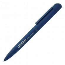 """Ручка шариковая """"Jupiter"""", темно-синий, прорезиненная поверхность"""