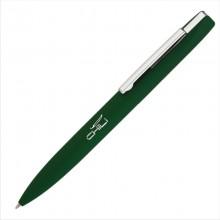 """Ручка шариковая """"Mercury"""", темно-зеленый, прорезиненная поверхность"""