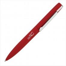 """Ручка шариковая """"Mercury"""", красный, прорезиненная поверхность"""