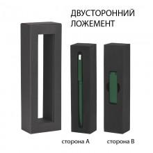 """Набор ручка """"Jupiter"""" + флеш-карта """"Case"""" 8 Гб в футляре, темно-зеленый"""