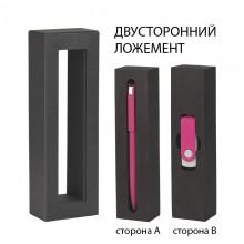 """Набор ручка """"Jupiter"""" + флеш-карта """"Vostok"""" 16 Гб в футляре, фуксия"""