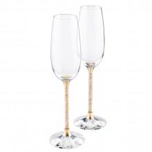 Бокалы для шампанского Crystalline