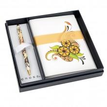 Набор Botanica: шариковая ручка, набор открыток и конвертов