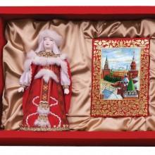 """Набор """"Конфетки, бараночки"""": кукла декоративная, шоколадные конфеты """"Конфаэль"""""""
